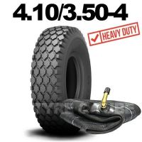 4.10/3.50-4 TYRE & TUBE SET STAR TREAD | HEAVY DUTY